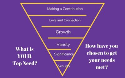 How Are You Meeting Your Needs?